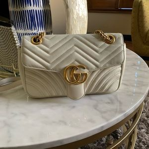 Gucci Marmont small matelassé shoulder bag